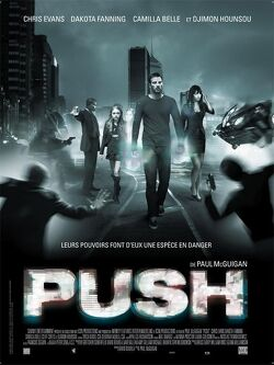 Couverture de Push
