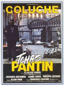 Couverture de Tchao Pantin