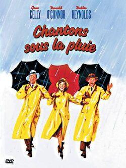 Couverture de Chantons sous la pluie