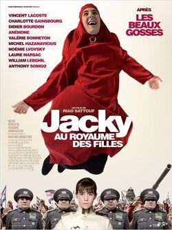 Couverture de Jacky au royaume des filles
