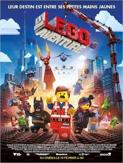 Couverture de La Grande Aventure Lego