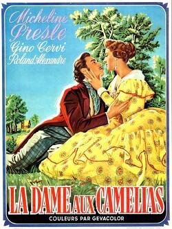 Couverture de La dame aux camélias