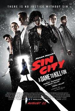 Couverture de Sin City : j'ai tué pour elle