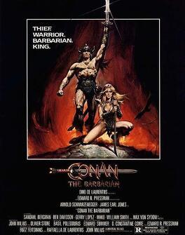 Couverture du livre : Conan le barbare