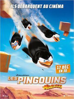 Couverture de Les Pingouins de Madagascar