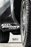 couverture Fast and Furious 7