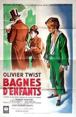 Couverture de Oliver Twist