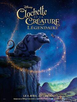 Couverture de Clochette et la Créature Légendaire