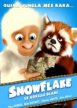 Couverture de Snowflake, le gorille blanc