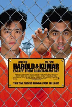 Couverture de Harold et Kumar s'évadent de Guantanamo