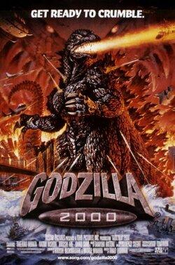 Couverture de Godzilla 2000
