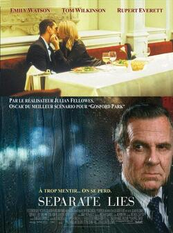 Couverture de Separate Lies