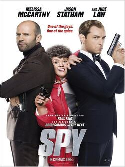 Couverture de Spy