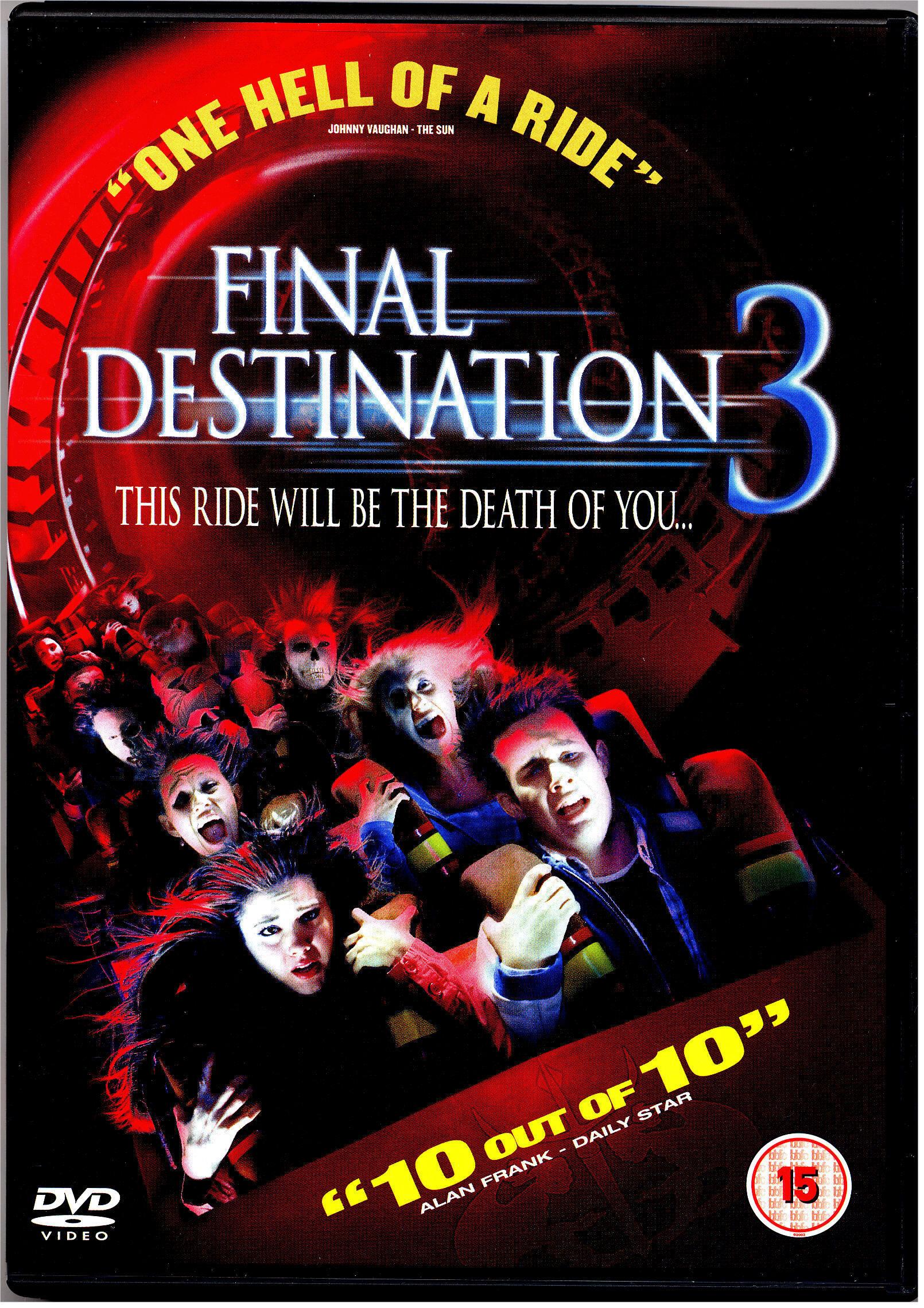 Affiches Et Pochettes Destination Finale 3 De James Wrong