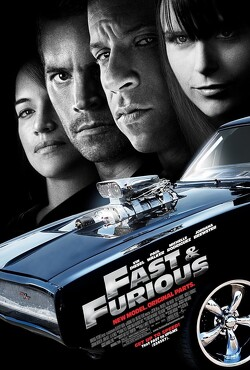 Couverture de Fast and Furious 4