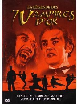 Couverture de La Légende Des 7 Vampires D'Or