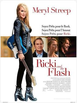 Couverture de Ricki and the flash
