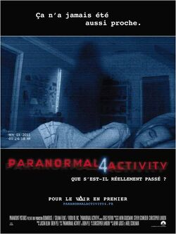Couverture de Paranormal Activity 4